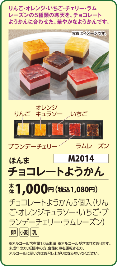 ほんま チョコレートようかん