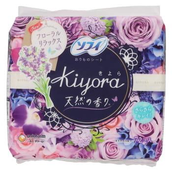 ユニ・チャーム ソフィ Kiyora フローラルリラックスの香り 72個