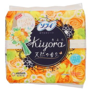 ユニ・チャーム ソフィ Kiyora フレグランス イランイラン&シトラスの香り 72枚